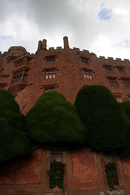 side of powis castle