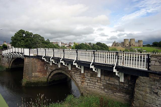 bridge over river clwyd