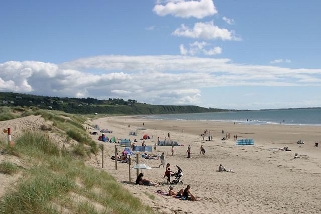 beach at harlech