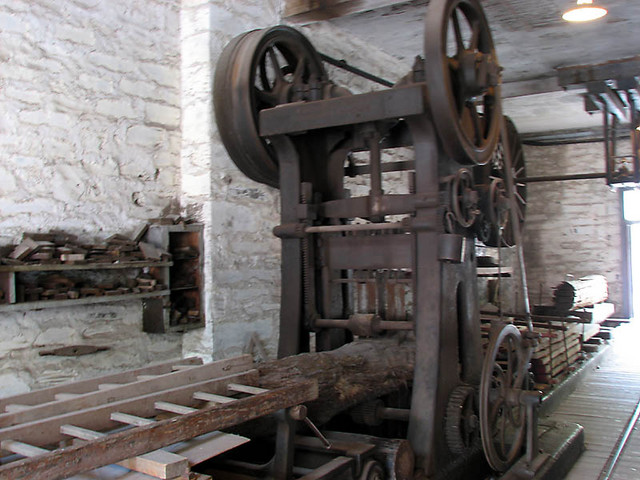 old saw mill