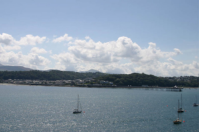 bangor from anglesey