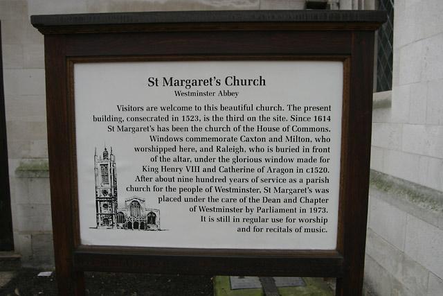 st margarets church sign