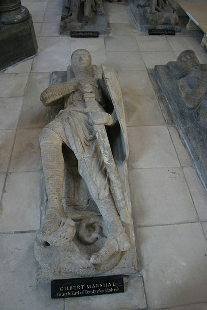 Tomb effigy gilbert marshal