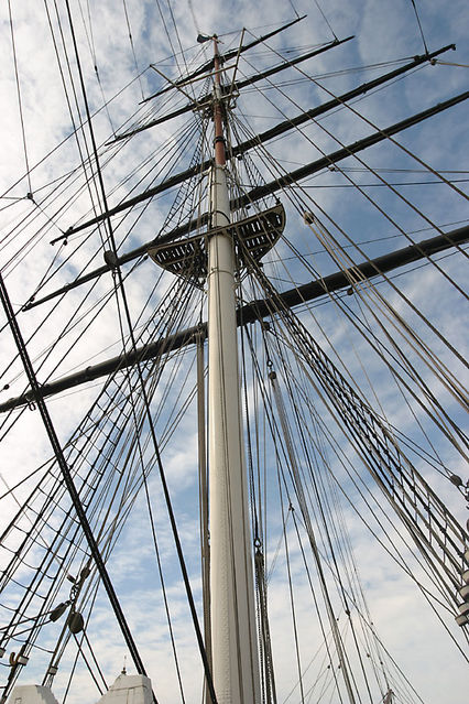 cutty sark mast