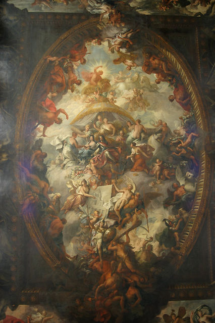 painted hall roof