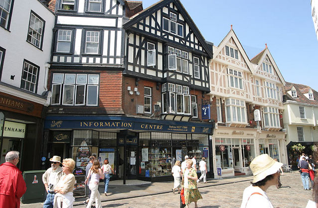 Town Photo Picture Image Canterbury Kent Canterbury Uk