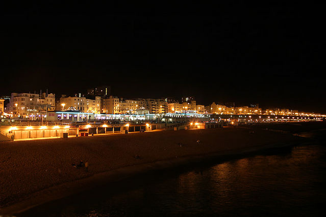 waterfront night