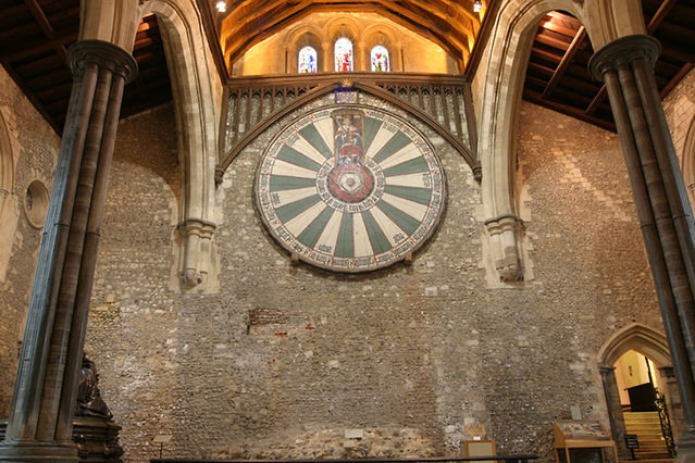 Great hall round table photo picture image for 12 knights of round table