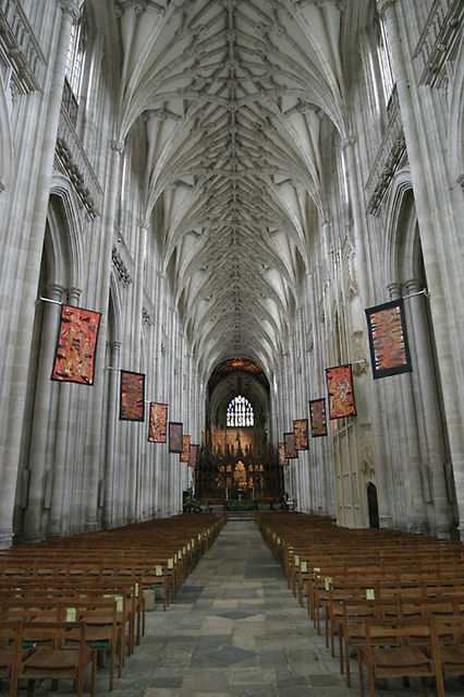 Nave Photo Picture Image Winchester Cathedral
