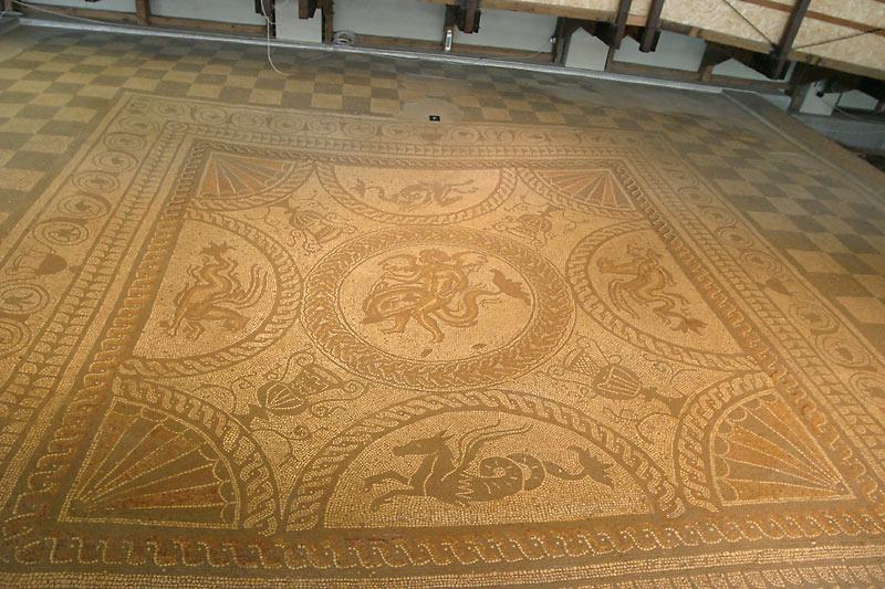 Mosaics Photo Picture Image Fishbourne Roman Palace