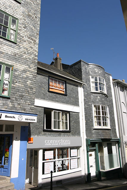 slate facade buildings