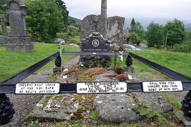 rob roys grave