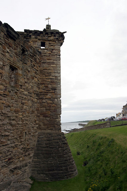castle wall tower