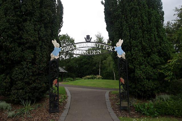 beatrix potter garden entrance