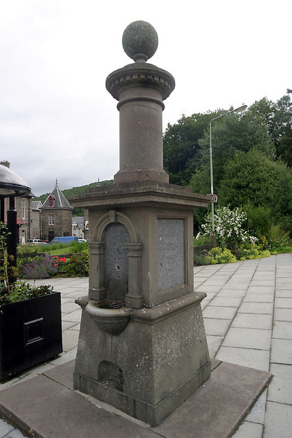 old drinking fountain