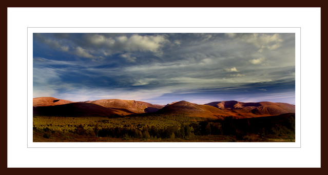 CAIRNGORMS BEFORE SUNSET co