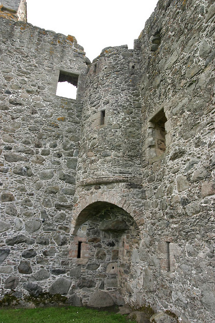 interior tower ruins