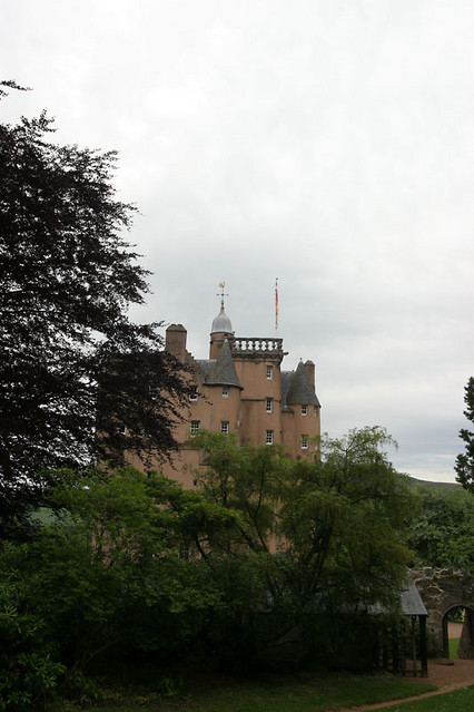 castle from gardens