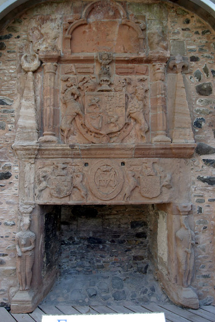 elaborate fireplace friezes