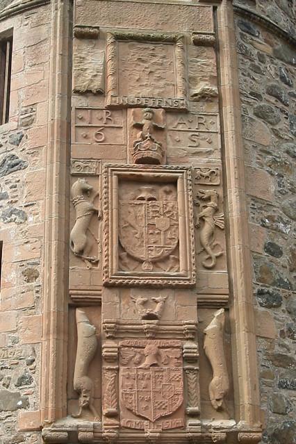 heraldic sculpture