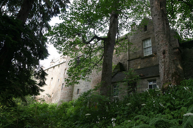 back of cawdor castle