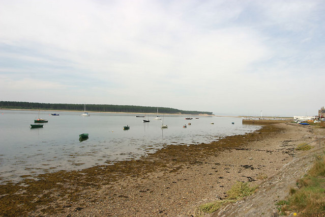 boats in findhorn bay
