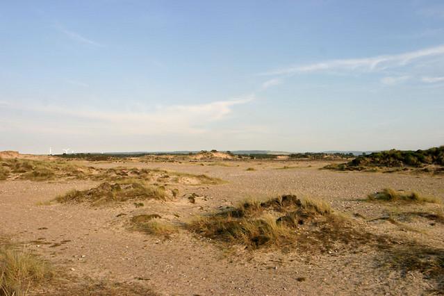 findhorn sand dunes