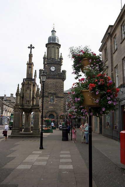 tolbooth and mercat cross
