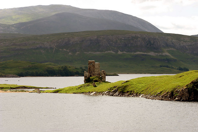 ardvreck castle skaig bridge